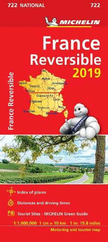 MICHELIN | FRANCE REVERSIBLE 2019 MAP