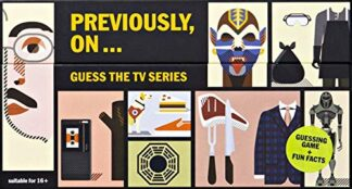 PREVIOUSLY, ON… | GUESS THE TV SERIES