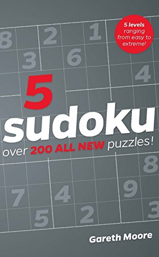 SUDOKU 5 | OVER 200 ALL-NEW PUZZLES!