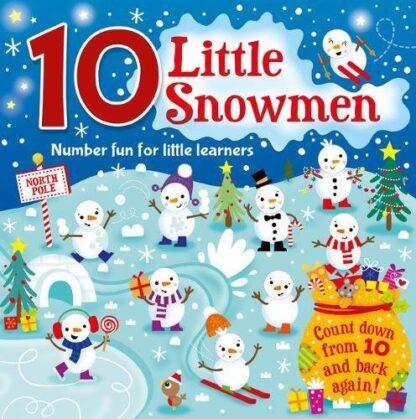 10 LITTLE SNOWMEN | NUMBER FUN FOR LITTLE LEARNERS
