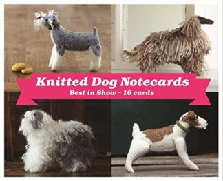 KNITTED DOG NOTECARDS | BEST IN SHOW - 16 CARDS