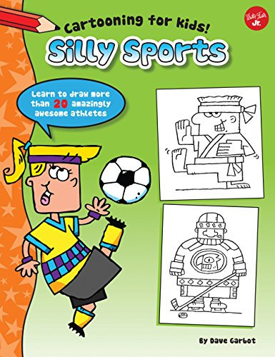 CARTOONING FOR KIDS! | SILLY SPORTS