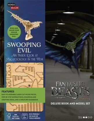 FANTASTIC BEASTS AND WHERE TO FIND THEM | DELUXE BOOK AND MODEL SET | SWOOPING EVIL