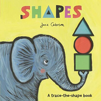 SHAPES | A TRACE-THE-SHAPE BOOK