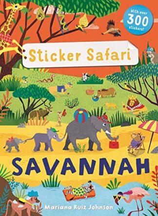 STICKER SAFARI   SAVANNAH