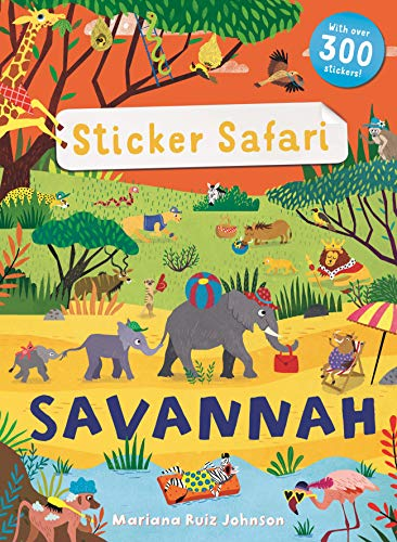 STICKER SAFARI | SAVANNAH