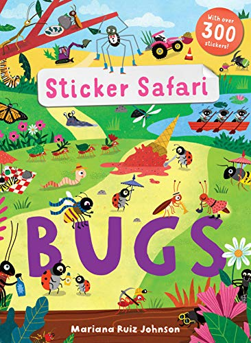 STICKER SAFARI | BUGS