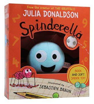 SPINDERELLA | BOOK AND SOFT SPIDER TOY!