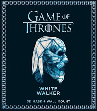 GAME OF THRONES - WHITE WALKER 3D MASK & WALL MOUNT BOOK.