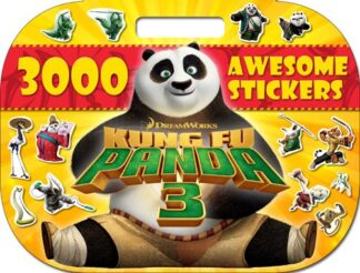 3000 AWESOME STICKERS | KUNG FU PANDA 3