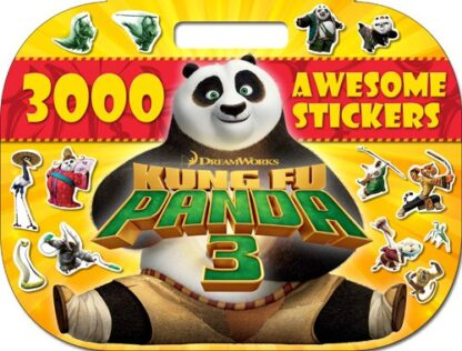 3000 AWESOME STICKERS | KUNG FU PANDA 3
