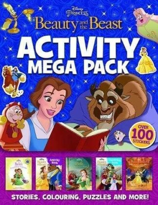 DISNEY PRINCESS BEAUTY AND THE BEAST | ACTIVITY MEGA PACK