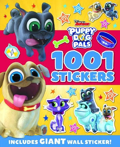 DISNEY JUNIOR PUPPY DOG PALS | 1001 STICKERS