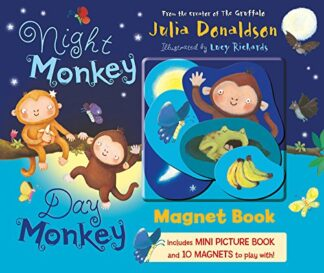 NIGHT MONKEY DAY MONKEY | MAGNET BOOK