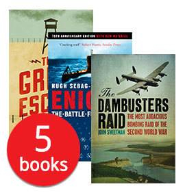 WWII MILITARY COLLECTION - 5 BOOKS