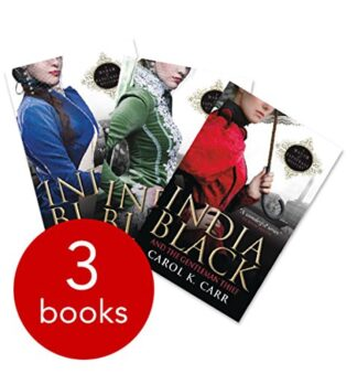 INDIA BLACK COLLECTION - 3 BOOKS