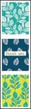 TRIPLE HANGING PACK 12 CARDS & ENVELOPES