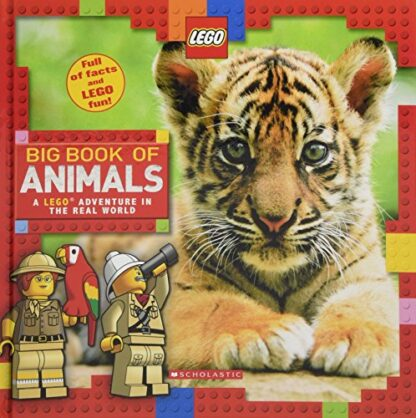 LEGO | BIG BOOK OF ANIMALS | A LEGO ADVENTURE IN THE REAL WORLD