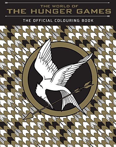 WORLD OF THE HUNGER GAMES | OFFICIAL COLOURING BOOK