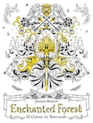 ENCHANTED FOREST | 12 COLOUR-IN NOTECARDS