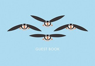 I LIKE BIRDS | FLYING PUFFINS | GUEST BOOK