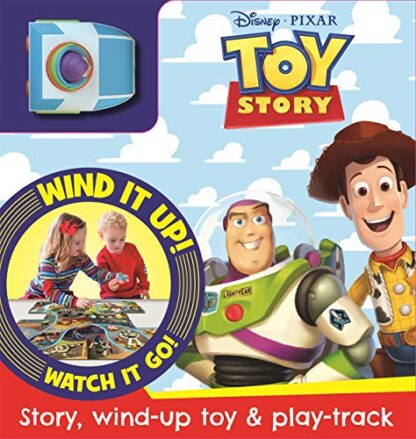 DISNEY PIXAR TOY STORY | STORY, WIND-UP TOY & PLAY TRACK