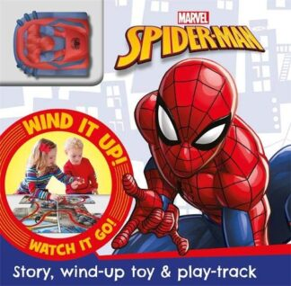 MARVEL SPIDER-MAN | STORY, WIND-UP TOY & PLAY TRACK