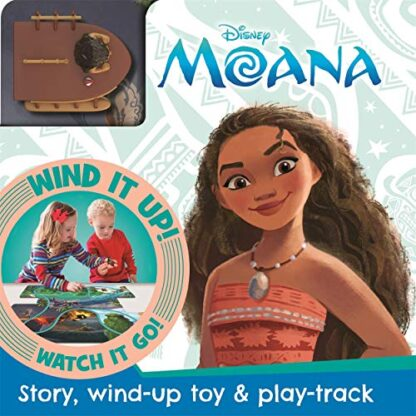 DISNEY MOANA | STORY, WIND-UP TOY & PLAY-TRACK