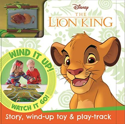 DISNEY THE LION KING | STORY, WIND-UP TOY & PLAY-TRACK