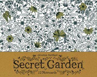 SECRET GARDEN | 12 NOTECARDS